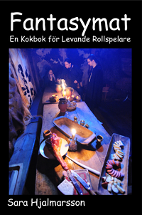 "My first cookbook: ""Fantasy Food: A Cookbook for Live-Action Roleplayers"" focused on creative cooking for dramatic effect. The recipes are inspired by fantastic fiction and historical culinary traditions."
