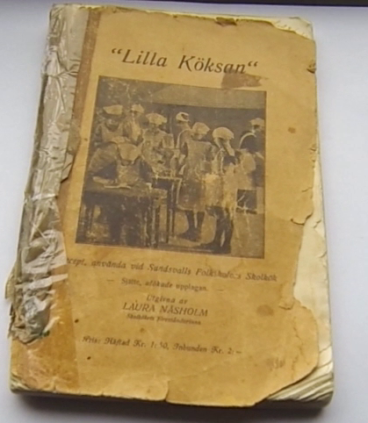"I still have my grandmother's cookbook from householder school in 1933. The title reads ""The little kitchen girl"" - very much a product of its time."
